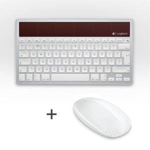 clavier solaire K760 (pour Mac, iPad ou iPhone) + Souris Logitech souris T620