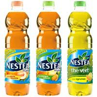 Lot de 2 bouteilles de Nestea 1,5L