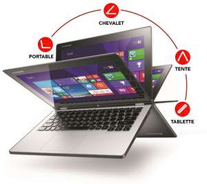 PC Portable Lenovo Yoga 2 11Touch - Ecran 11.6""