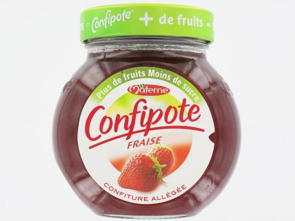 Confiture Confipote gout fraise