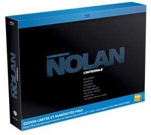 Christopher Nolan : intégrale 7 films + The Dark Knight Rises + 30 € offerts en bons d'achat