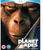 Coffert Planète Des Singes 5 Blu-Ray (Uniquement en anglais)