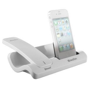 Combiné Bluetooth avec chargeur pour iPhone Icreation I450 - Blanc ou Noir