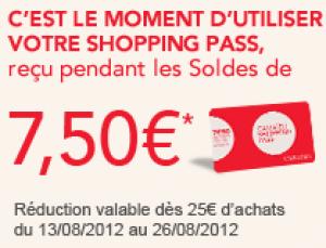 -7,50€ de réduction dès 25€ d'achat
