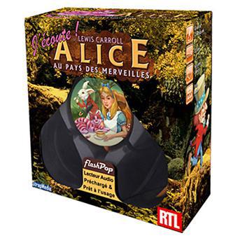 """Lecteur audio FlashPop """"Alice au pays des merveilles"""" ou """"Le livre de la jungle"""""""