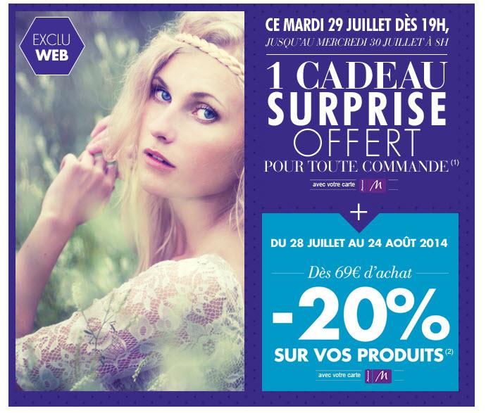 -20% de réduction immédiate web & magasin dès 69 €