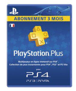 Playstation Plus LiveCards : Abonnement 90 jours