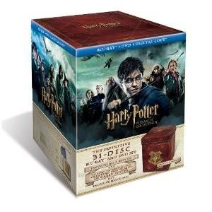Intégrale Harry Potter Wizard - Edition limitée et numérotée - 13 DVD + 18 Blu-ray