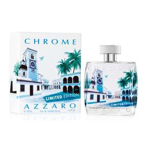 Eau de Toilette Azzaro Chrome Limited Edition 100ml