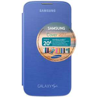 Etui Flip Cover pour Samsung Galaxy S4 (20€ ODR)