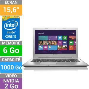 "PC portable 15"" Lenovo Z50-70 - Full HD, Core i3, 6 Go, GeForce 820M"