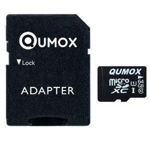 Carte mémoire MicroSD Qumox 64 Go - Class 10 UHS-I