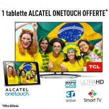 """Téléviseur 49"""" TCL U49S7606DS - 4K 3D smart tv DLNA Wifi"""