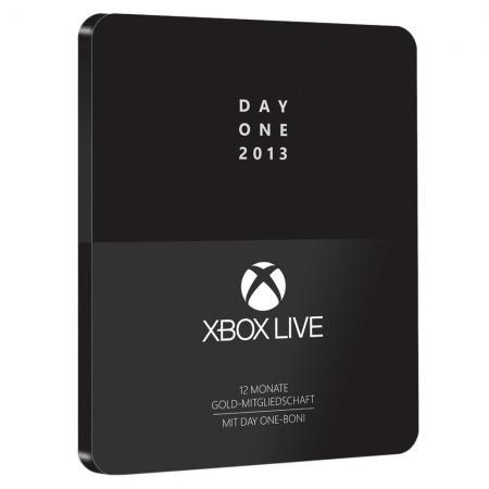 Abonnement de 12 mois au Xbox Live Gold - Edition Day One (360/One)