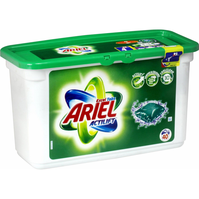 Lot de 2 paquets de lessive Ariel