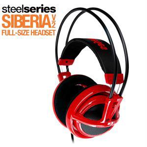 Casque micro gamer Steelseries Siberia V2 Red