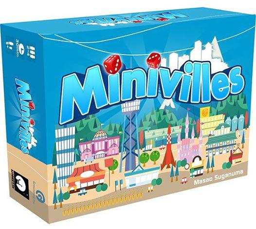 Jeu de société Minivilles