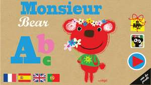 Application L'ABC de Monsieur Bear - Full gratuit sur android au lieu de 1.79€