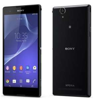 Smartphone Sony Xperia T2 Ultra, 8 Go, 4G Noir