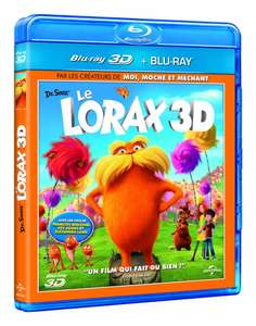Combo Blu-ray 3D + 2D Le Lorax