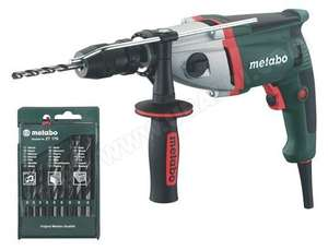 Perceuse à percussion Metabo SBE 850 2 vitesses 850W + 9 forets