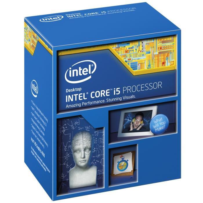 Processeur Intel Core i5 4690 Haswell Refresh - Socket LGA1150