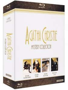 "Coffret Blu-ray ""The Agatha Christie Mistery Collection"" - Import Italie 4 Films"