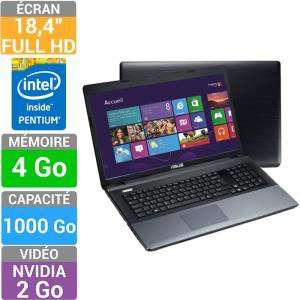 "PC portable Asus A95VB-YZ086H - Ecran 18,4"", Intel Pentium 2020M, RAM 4Go - HDD 1To"