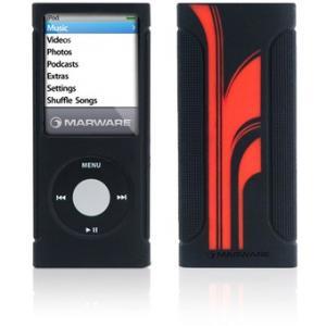 Marware iPod nano 4G Sport Grip Extreme Noir/Rouge