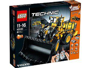 Chargeuse sur pneus télécommandée Lego Technic 42030 Volvo L350F