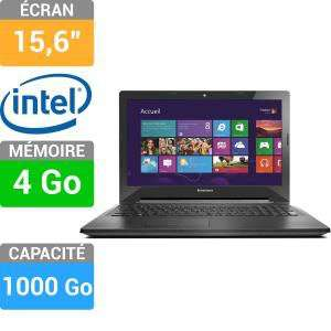 "Ordinateur portable 15.6"" Lenovo G50-30 - Celeron N2830, 4Go Ram, 1 To"