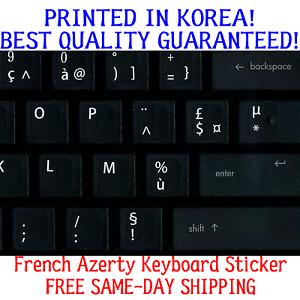 Kit de conversion clavier de Qwerty à Azerty Français