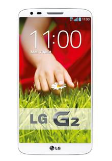 "Smartphone 5.2"" LG G2 32Go, 13MP, 4G - Blanc ou Noir"