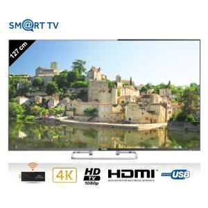 """Téléviseur 50"""" Haier LE50H6500CF - Smart TV, 4K"""