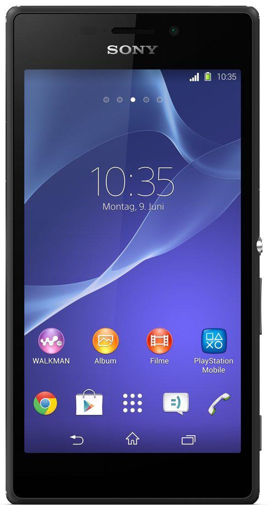 Smartphone Sony Xperia M2 noir ou blanc (avec ODR 50€)