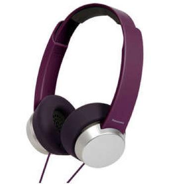Casque arceau Panasonic RP-HXD3E - Violet