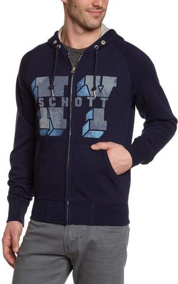 Sélection de vêtements Schott en promo - Ex: Sweat-shirt schoot nyc