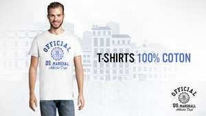 T-shirt Homme US Marshall Official