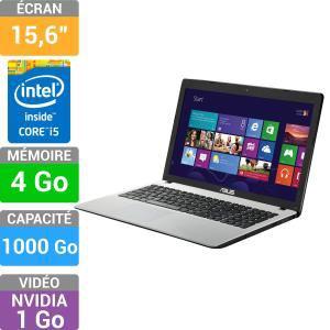 """PC Portable Asus X552CL-SX282H - 15.6"""", Core i5, RAM 4Go"""