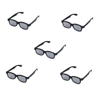 Lot de 5 paires de lunettes 3D pour TV Sony, LG, Panasonic
