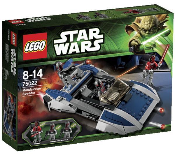 Sélection de Lego en promo - Ex : Lego Star Wars Speeder Mandalorian