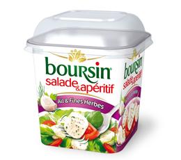 Fromage Boursin Salade et apéritif gratuit (au lieu de 1,85€)