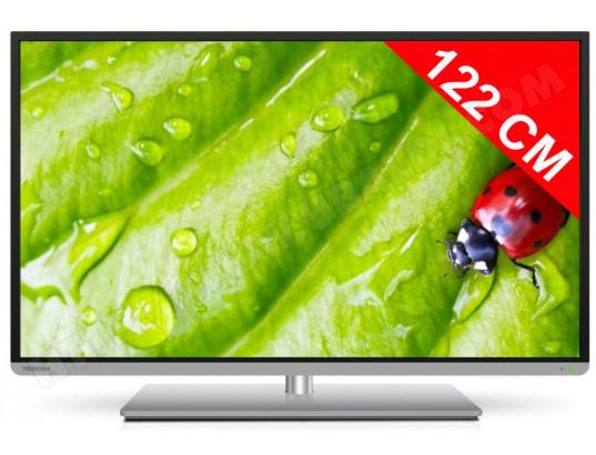"""Téléviseur 48"""" Toshiba 48L5435 3D,Smart Tv - Wifi - 2 Lunettes 3D (avec ODR 100€)"""