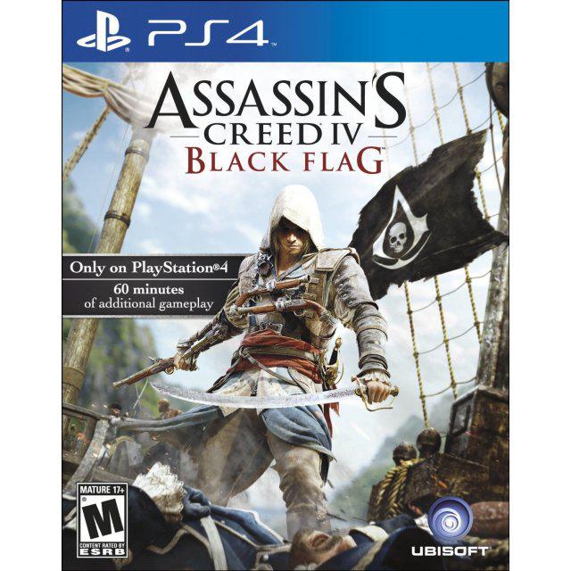 Watch Dogs sur XBOX One à 29.81€ et Assassin's Creed IV: Black Flag sur PS4