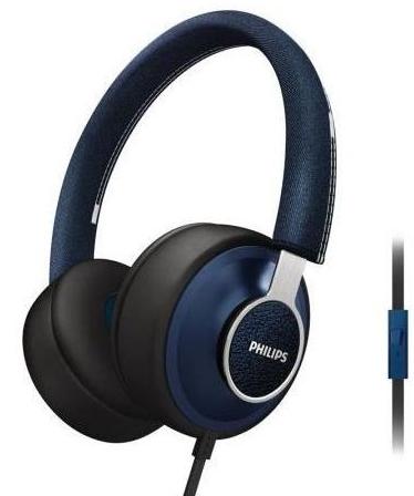 Casque Philips Citiscape DownTown bleu