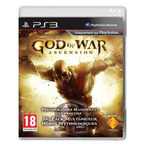 God of War Ascension PS3 + Livre Collector + Figurine Collector