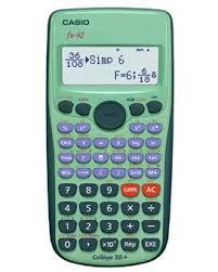 Calculatrice Scolaire Casio Fx 92 Collège 2D + (ODR 3€) + 1,5€ de bon d'achat