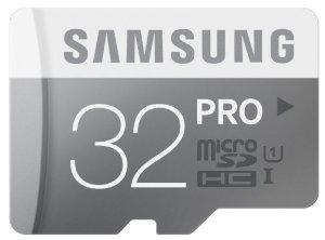 Carte microSDHC Samsung Pro 32 Go MB-MG32D UHS-I Classe 10