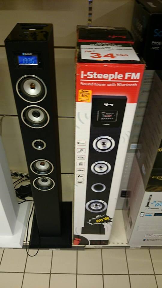 Enceinte colonne Bluetooh Ijoy I-Steeple - 60 watts