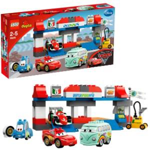 Lego Duplo Cars : Le Pit Stop